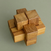 Wooden Puzzle for Geeks