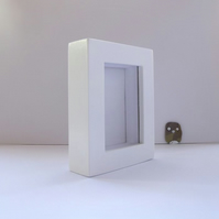 Small Box Frame in White