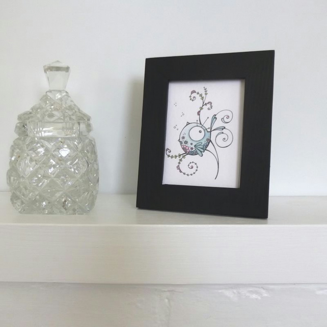 ACEO Picture Frame Black