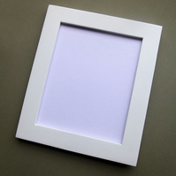 Oversize ACEO Frame in White