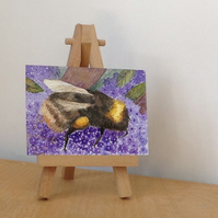 ACEO bee painting