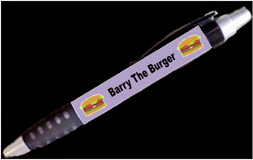 Barry The Burger Pen