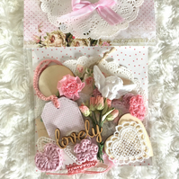 Shabby chic embellishment kit