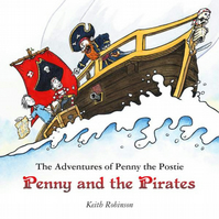 'Penny and the Pirates' children's picture book