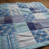 Reserved for Sue2Sew - aeroplane quilt