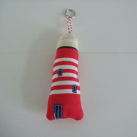 *SALE* Red Lighthouse keyring