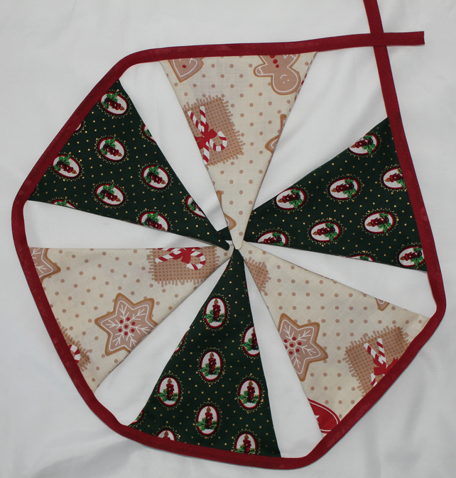 Christmas bunting - postage included