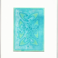 SALE - Original Celtic Monoprint