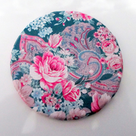 Floral & Paisley Decoupage Round Coaster