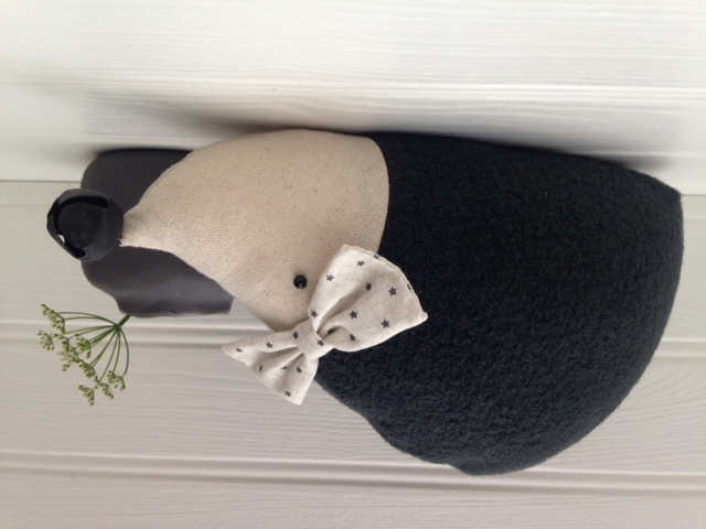 Sale - Handmade Hedgehog Doorstop