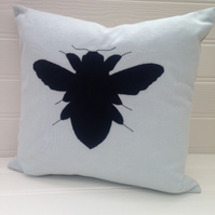 Sale - Bee Applique Cushion Cover