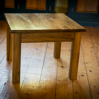 Solid English Walnut Side Table