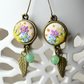 Summery Polymer Clay Earrings