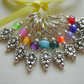 Little Flower Stitch Markers - knitting or crochet