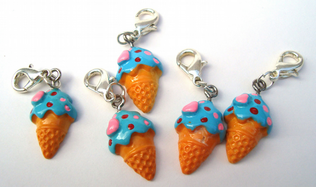 Ice Cream Stitch Markers