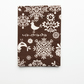 Scandinavian style print Passport cover