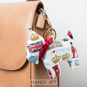 I love London Scottish terrier bag charm