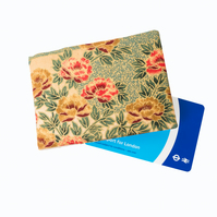 Oyster Card Wallet, Travel Card Holder, Credit Card Case - Golden Garden
