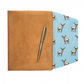 A5 Suedette Notebook cover - Stag print