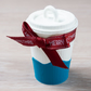 Coffee Cup Ornament Turquoise