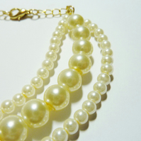 **reserved for the fabulous Ingridje9** Pearl Bracelet - Victoria's Pearls of Wisdom