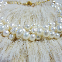 Vintage Freshwater Pearl Bracelet -  The Mermaid's Cove ***Reserved for the fabulous Madeleine***