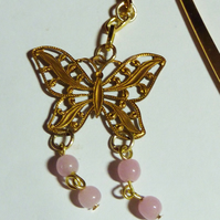 Vintage Bookmark - All Of A Flutter