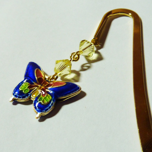 Swarovski Butterfly Bookmark - Flying High On Sparkling Wings