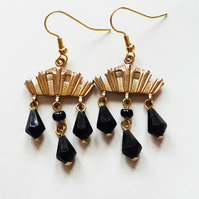 Delightful Deco Decadence  Art Deco Earrings
