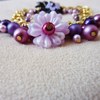 Fruits of the Forest Flower Bracelet