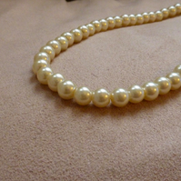 Pearls of Wisdom - Faux Pearl Necklace