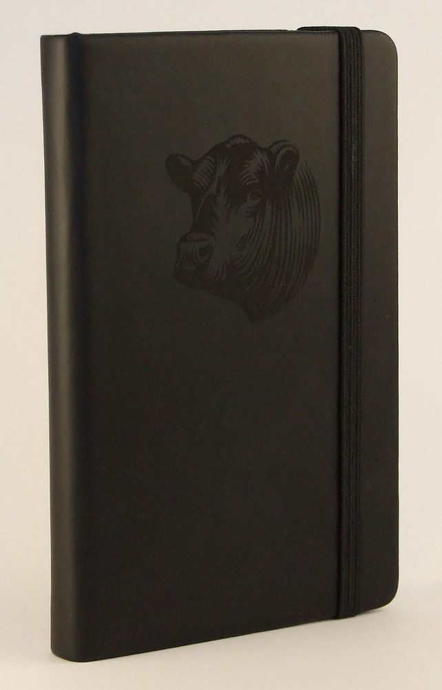 Mini Black Bull Notebook
