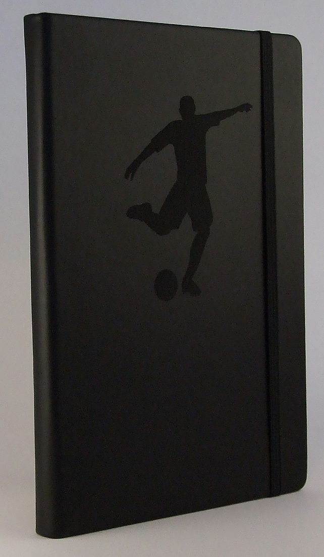 Black Footballer Notebook