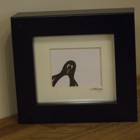 Penguin mini (black frame)