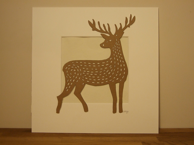 Mounted Deer Picture