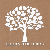 Tree Birthday Card