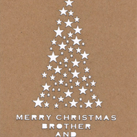 Merry Christmas Brother and Sister in Law card
