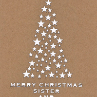 Merry Christmas Sister and Brother in Law card