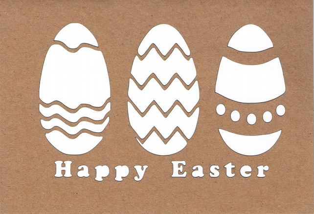 Happy Easter Egg card