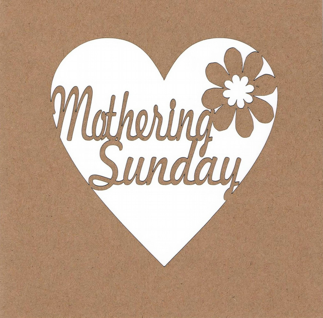 Happy Mothering Sunday Card