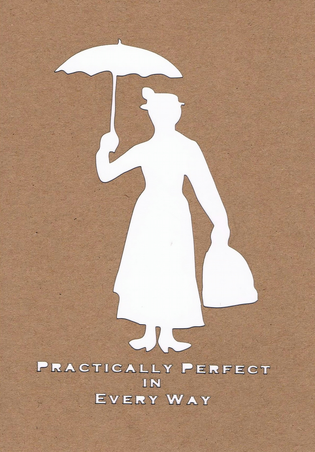 Mary Poppins card