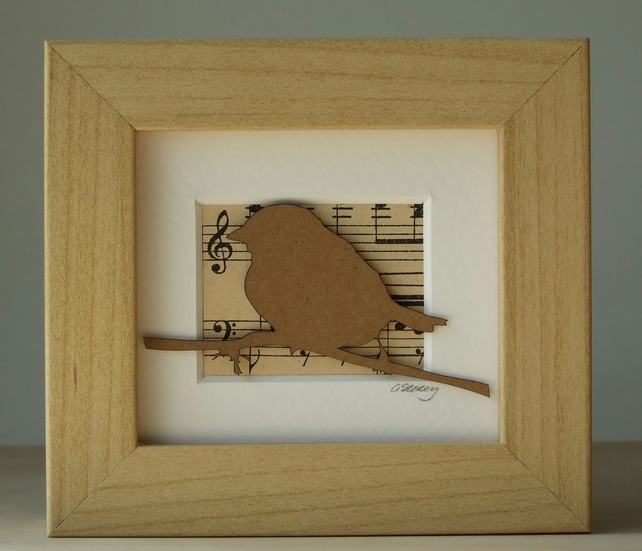 Mini bird with music