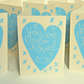 You Are So Loved Block Printed - Blue Card