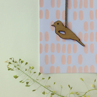 Jay Bird Necklace
