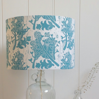 Shepherd's Purse Block Printed Lampshade