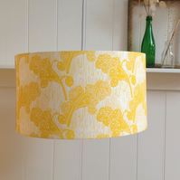Honesty Large Block Printed Lampshade