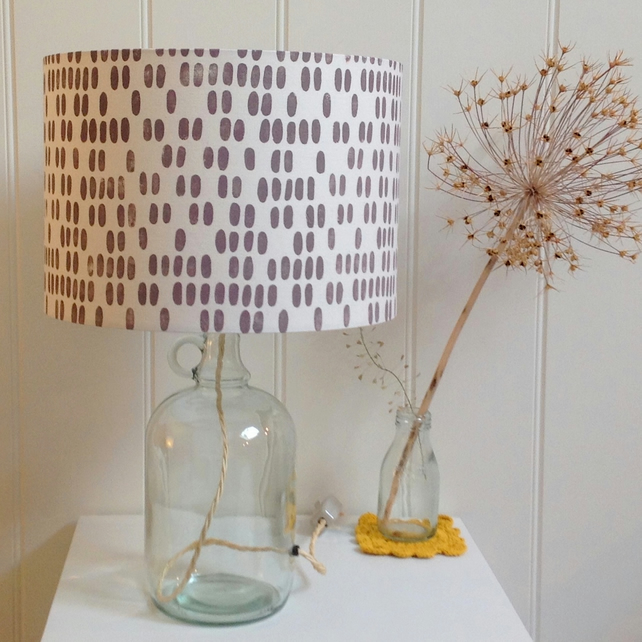 Mimosa Glass Bottle Table Lamp