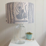 Banksia Glass Bottle Table Lamp