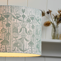 Phlomis Block Printed Ceiling Drum