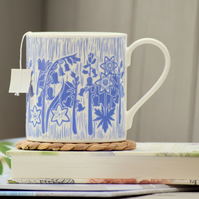 Bluebell UK Fine Bone China Mug